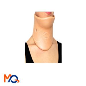 Collier cervical semi-rigide avec appui